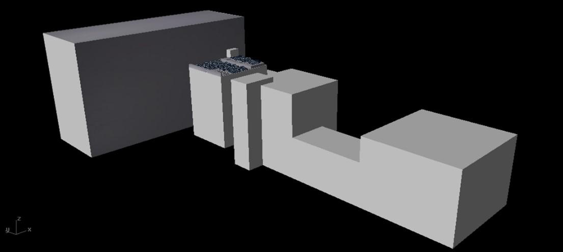 simulación proyección de sombras sobre Planta Solar Fotovoltaica